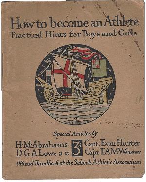 1928 Handbook Front Page
