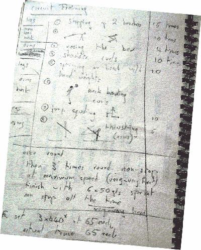 Lilleshall programme