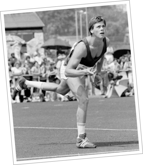 Mick Hill at ESAA champs 1983